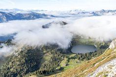 Stockhorn Zmorge - Frühstück über den Wolken - Ausflugstipps Mountains, Nature, Travel, Air Fresh, Day Trips, Mists, Road Trip Destinations, Naturaleza, Viajes