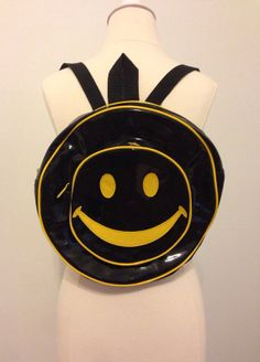3980622c240 Dark Side Smiley Bob 90 s Backpack