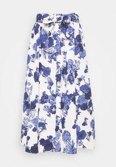 MAX&Co. ACRONIMO - A-line skjørt - blanc/hvit - Zalando.no Skirts, Fashion, Moda, Fashion Styles, Skirt, Fashion Illustrations, Gowns, Skirt Outfits
