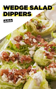 Wedge Salad Dippers Will Make You Feel Fancy AFDelish