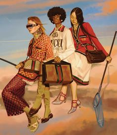 Gucci Spring/Summer 2018 advertising campaign