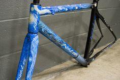 NAHBS   2011   North American Handmade Bicycle Show   Kirklee's Van Gogh tribute   #NAHBS