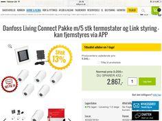 Danfoss link styring af varme via app