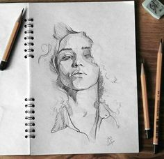 Discover The Secrets Of Drawing Realistic Pencil Portraits.Let Me Show You How You Too Can Draw Realistic Pencil Portraits With My Truly Step-by-Step Guide. Portrait Sketches, Pencil Portrait, Drawing Sketches, Art Drawings, Drawing Portraits, Face Sketch, Drawing Faces, Sketching, Female Portrait