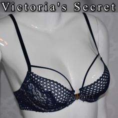 Victoria sexy VERY SEXY bra unlined Demi 34B New with tag VERY SEXY collection 34B open in front Victoria's Secret Intimates & Sleepwear Bras