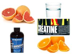 Зелье на ночь. L-карнитин+Креатин. *L-carnitine+Creatine* drink. (+плейл... Grapefruit, Sport, Amazing, Food, Deporte, Sports, Meals, Yemek, Eten