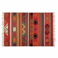 Tapis en laine multicolore 160x230cm KILIMA -