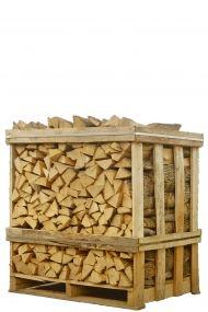 Halve pallet brandhout verkrijgbaar bij www.haardhout.nl