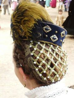 ELIZABETHAN SNOOD INSTRUCTIONS - Google Search