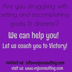 Accomplishments are victories!