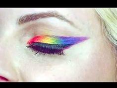 Rainbow Ombre Eyeliner