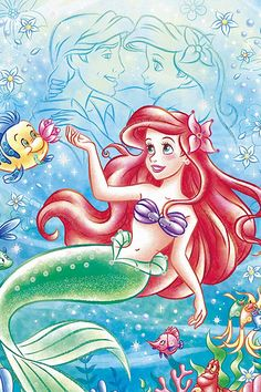 Image discovered by Find images and videos on We Heart It - the app to get lost in what you love. Disney Princess Ariel, Disney Princess Drawings, Disney Drawings, Disney Little Mermaids, Disney Fairies, Ariel The Little Mermaid, Arte Disney, Disney Fan Art, Disney Love