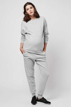 MATERNITY Brushed Sweatshirt - Topshop