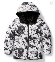 Psst. This is reversible. That means it's basically two fabulous coats in one. That means she probably need it, like- yesterday.