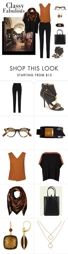 """""""Just Starting Out"""" by jjsunnygirl ❤ liked on Polyvore featuring Givenchy, Ralph Lauren, Moschino, Oliver Peoples, Hermès, WtR and Lauren Ralph Lauren"""