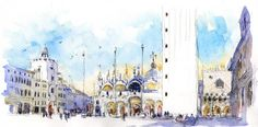 More from Venice, Piazza San Marco | Urban Sketchers