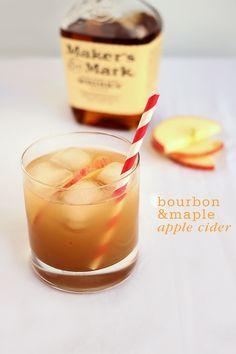 Bourbon and Maple Apple Cider Recipe