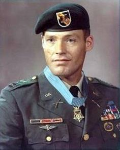WOW..read about this hero..they don't come any tougher!  Honoring Robert Lewis Howard who was a highly decorated United States Army soldier and Medal of Honor recipient of the Vietnam War. He was wounded 14 times over 54 months of combat, was awarded 8 Purple Hearts, 4 Bronze Stars, and was nominated for the Medal of Honor three separate times. He was laid to rest at Arlington National Cemetery on February 22, 2010