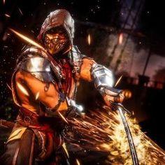 Mortal Kombat Fight, Arte Kombat Mortal, Scorpion Mortal Kombat, Mortal Kombat Games, Liu Kang And Kitana, Mortal Kombat X Wallpapers, Moto Combat, Geeks, Character Art