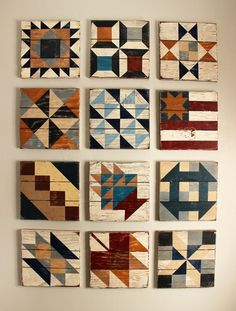 Image of Civil War Barn Quilt Block of the Month - 2017