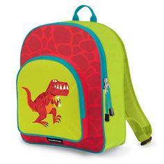 Crocodile Creek Eco Kids Dinosaur T-Rex Kids School Backpack, 14 inch, Red Backpacking Hammock, Backpacking Food, Crocodile, Nylons, Eco Kids, School Bags For Kids, Bottle Bag, Fashion Deals, School Backpacks