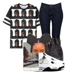 """@maryjanetower"" by trillest-queens ❤ liked on Polyvore featuring VFiles and Proenza Schouler"