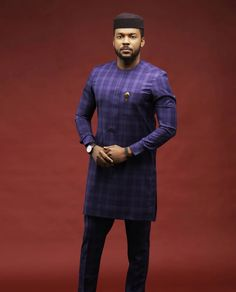 African American Fashion Blazer And Skirt African Fashion Men, African Wear Styles For Men, African Shirts For Men, African Dresses Men, Nigerian Men Fashion, African Attire For Men, African Clothing For Men, African Style, Costume Africain