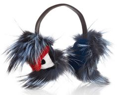 Fendi Buggie Fur Earmuffs. Wow. Need. (except in faux fur cause real fur's mean.)