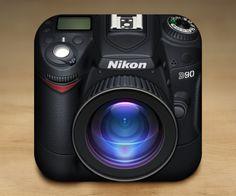 Design -2 / 2 Nikon D90 iOS Icon