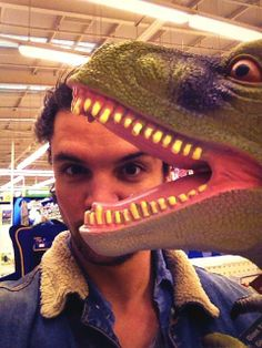 "Andrew Lee Potts's Twitter - ""I feel like a kid in a toy shop..... Oh, wait."""
