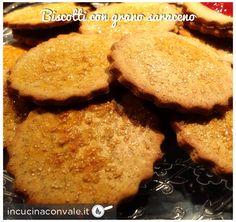 Biscotti con grano saraceno, senza burro e senza glutine