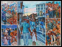 Featured Art - Philadelphia Mural 5  by Allen Beatty