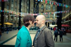 Tower Bridge Engagement shoot by Hajley Petein Photography