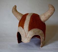 Viking Helmet dragon slayer or Mediedal Knight Pretend play helmet. $22.00, via Etsy.