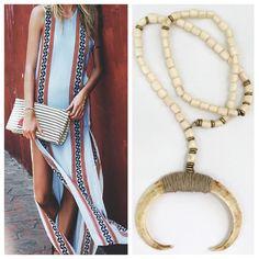 July 4 countdown is on! #redwhiteandblue #july4th #summervibes #beachvibes #tripessentials #daytonight #jewelrycrush #boarstusk #bone #handwrapped #handmade #madeinthesouth #empirestatefinery