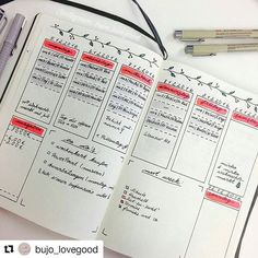 Looks great, with unique touches. @bujo_lovegood #bulletjournalcollection
