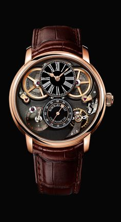 A little bit of Steampunk... Jules Audemars chronap, #Audemars Piguet #watch.