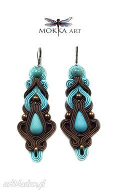 • kolczyki, biżuteria - kolczyki sutasz sabbre - Mokkaa