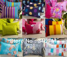 New 2014 New 2014 Green Aloe Cotton Pillow Cover Bedding 2 pcs of Pillow case Standard Size:45*75cm US $7.99
