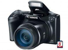 "Câmera Digital Canon PowerShot SX400IS 16.0MP -  LCD 3"" Zoom Óptico 30x Panorâmica Cartão 8GB - Magazine Dufrom - confira: www.magazinevoce.com.br/magazinedufrom/"
