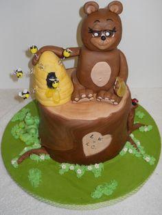 Honey Bear Cake by Maudie21