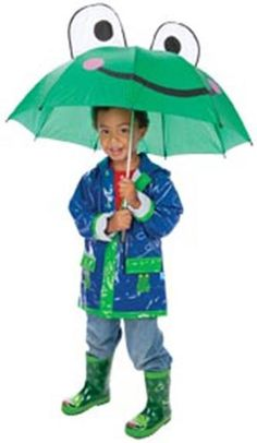 Frog Umbrella for Kids Toysmith,http://www.amazon.com/dp/B001D3FSWS/ref=cm_sw_r_pi_dp_Qv4-sb1SVS4QK28S