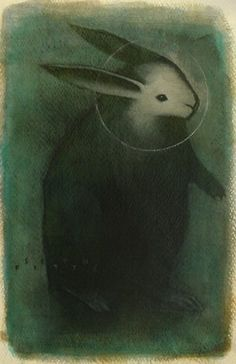"windypoplarsroom:  Seth Fitts ""Spirit Guide"""