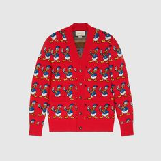 """GUCCI and Alessandro Michele continue to surprise us. For Spring 2017 the Italian luxury brand has now released a full """"Donald Duck"""" capsule. The collaboration with Disney comes shortly after having teamed up with Peanuts in the previous seasons and adds yet another fun and eye-catching layer to the GUCCI universe. The collection includes t-shirts, …"""