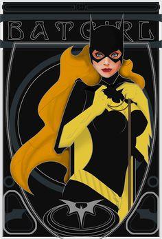 Batgirl Nouveau by Barush-dm