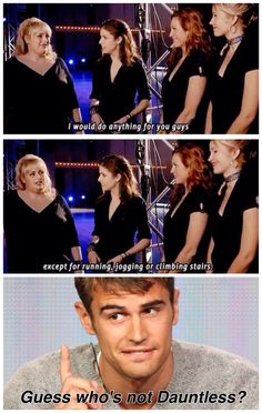Pitch Perfect cross Divergent - Dauntless