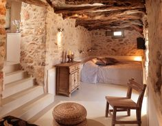 Hotel in #Folegandros Island, #Greece Source:http://contemporan.com/company/themonies/ posted by Nefeli Aggellou