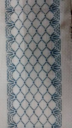 Swedish Embroidery, Blackwork Embroidery, Embroidery Stitches, Embroidery Patterns, Hand Embroidery, Crochet Patterns, Cross Stitches, Loom Patterns, Cross Stitch Designs