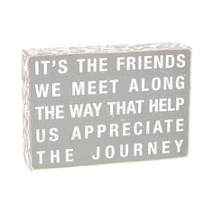 """Home Decor Wall Art; friends quote wall art  It's the Friends Wall Art, 5"""" x 8"""" // $6.99 Home Decor Quotes, Wall Art Quotes, Home Decor Wall Art, Home Art, Art Decor, Quote Wall, Fashion Branding, Words, Friends"""