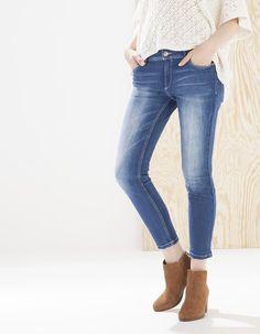 Ankle grazer jeans - CLOTHING - Stradivarius Hungary